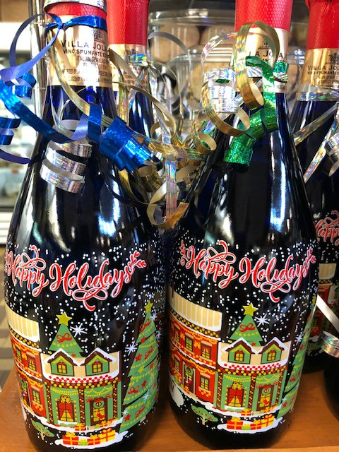 Be sure to get your holiday prosecco at Giolitti Deli!