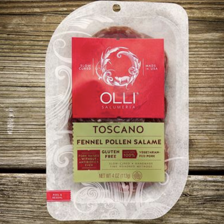 Try our Toscano Fennel Pollen salami from Giolitti Deli!