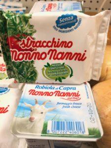 nonno nanni brand stracchino and robiola cheeses