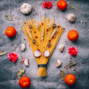homemade Italian food ingredients