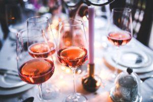 rosé wine from giolitti deli